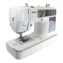 Brother 955 Macchina da cucire e da ricamare computerizzata. 129 punti utili e decorativi incorporati