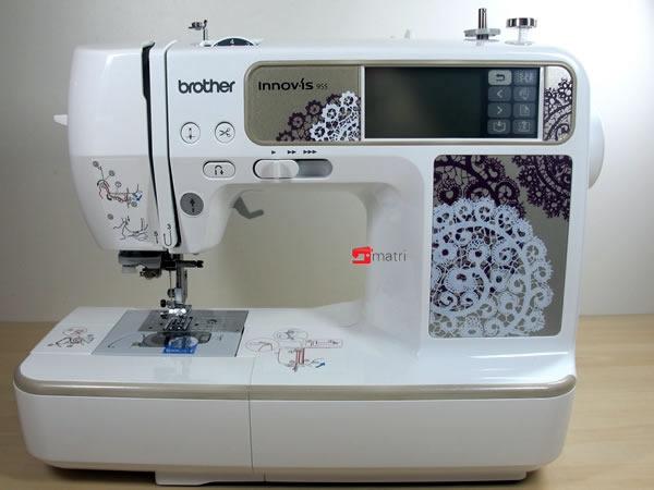 Brother 955 macchina da cucire e da ricamare for Macchina da cucire e ricamo