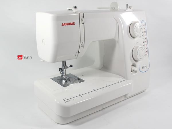 Janome 6021 macchina meccanica matri macchine da cucire for Macchina da cucire meccanica