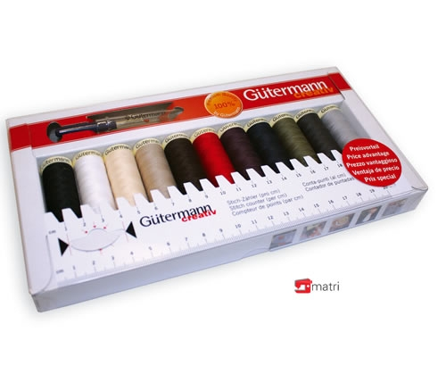 set di filati Gutermann 11