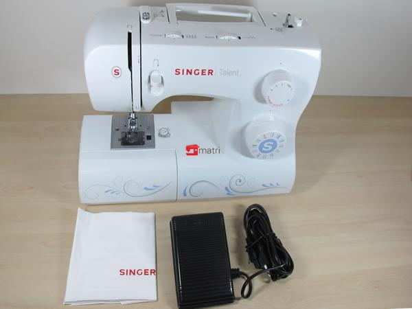 Singer talent 3323 la macchina da cucire ideale per i for Singer macchina da cucire prezzo