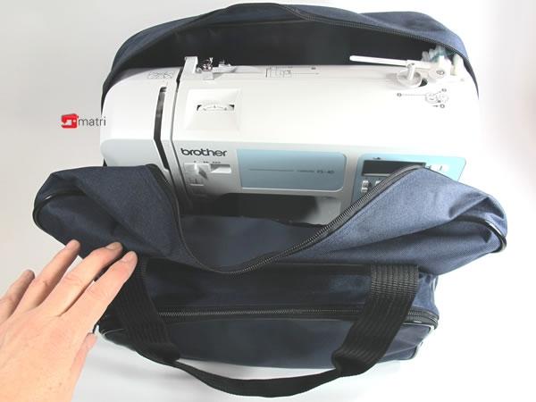 Bella e robusta borsa per macchina da cucire matri for Macchine per cucire portatili