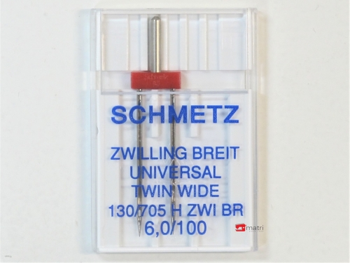 Schmetz Ago gemello 6 / 100
